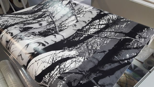 okleina meblowa foli samoprzylepna tapeta drzewa szer 45cm