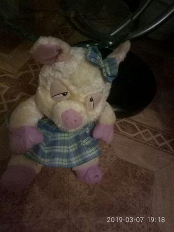 Пьяная свинья мягкая игрушка новая