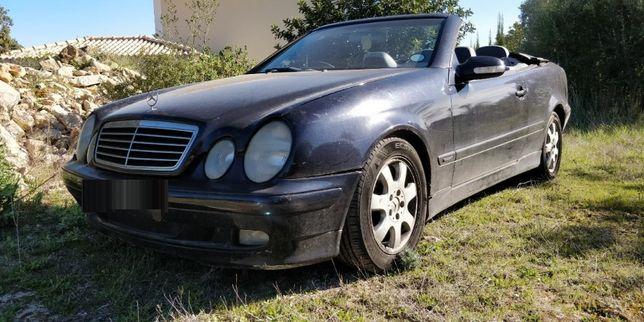 Mercedes CLK 200 Kompressor Cabrio 2001, CLK 320 Auto 1999 Para Peças