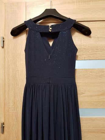 Nowa sukienka bal, studniówka, wesele, polska produkcja rozmiar 34, XS