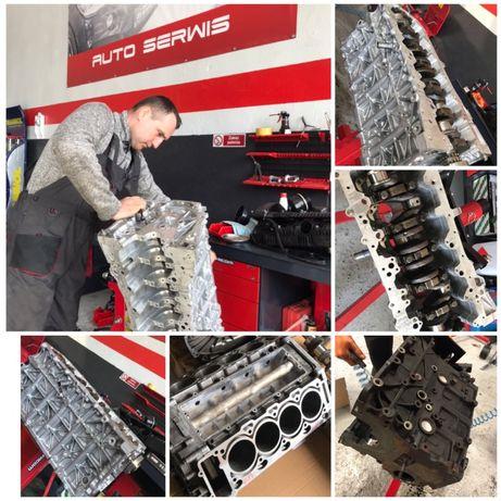 Remonty Remont silnika silników benzynowych oraz diesla marki Mercedes