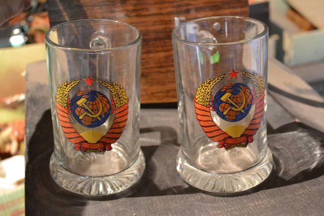 Новые пивные кружки, бокалы СССР