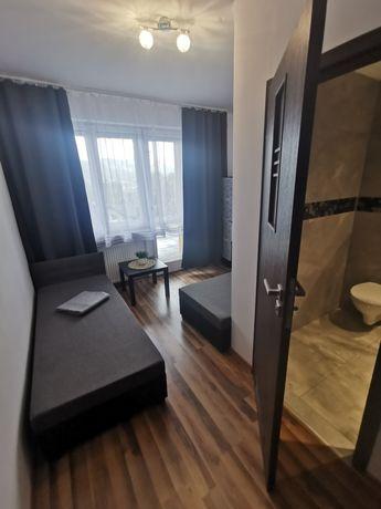 Pokoje 2-3 osobowe, wysoki standard
