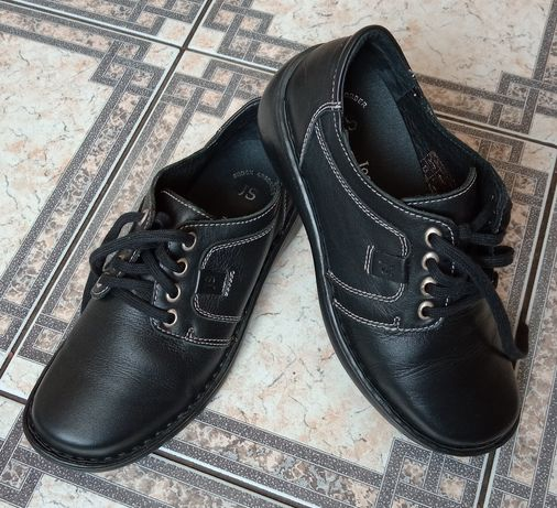 Josef Seibel shock absorber półbuty buty damskie skórzane r 36 23cm