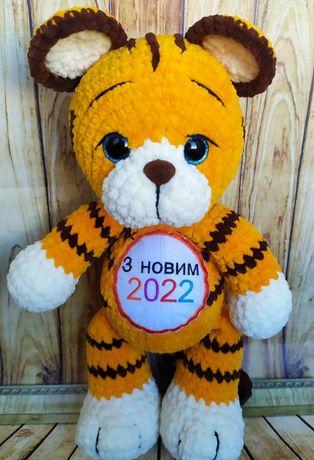 Тигр тигренок ручной работы символ 2022 года