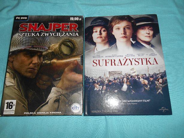 Snajper Sztuka zwyciężania Gra PC+Film DVD Sufrażystka PAKIET