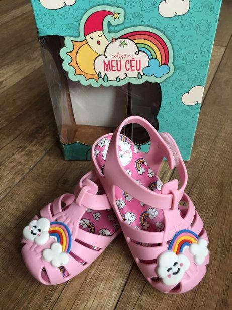 buciki, sandałki dziewczęce Zaxy różowe rozmiar 23