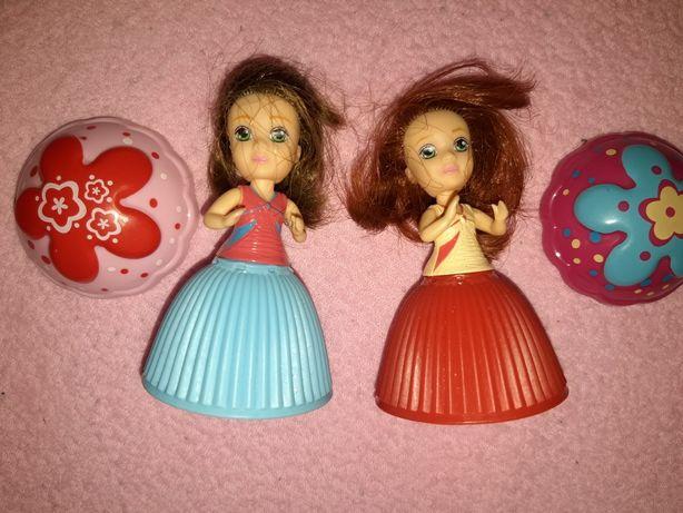 Cupcake lalki dwie sztuki
