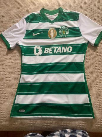 Camisola Oficial 21/22 Sporting Clube de Portugal