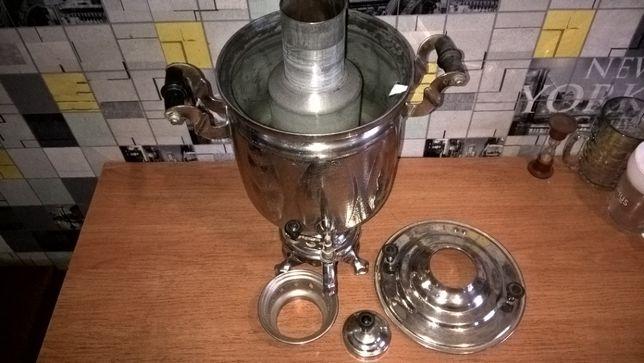 Самовар советский на 4 литра .На дровах или углях ( колос).