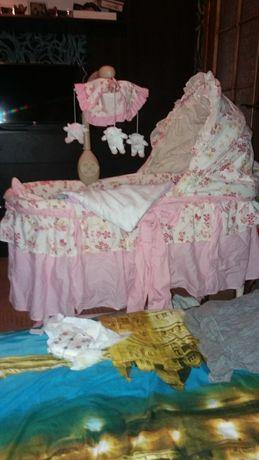 Кроватка качалка люлька