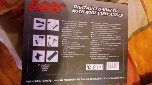 """Telewizor LCD 10,4"""" Aper"""