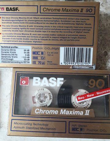 Kasety magnetofonowe czyste - BASF 60 i 90