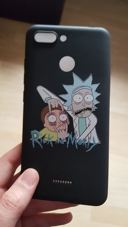 Case na Huawei  rick and morty