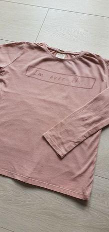 Bluzka brudny róż ZARA 140cm