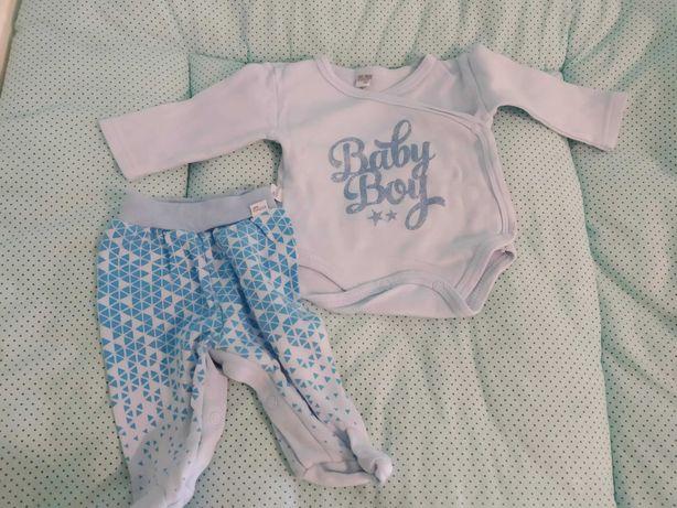 Body i półśpiochy, KOALA Baby, rozmiar 56, niebieskie, rozpinane
