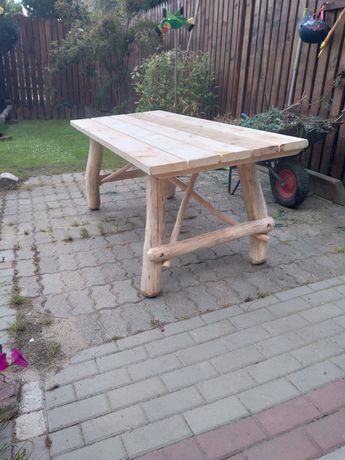 Meble ogrodowe ,stół  ,ławki