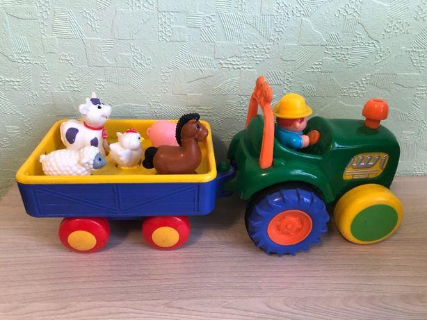 Музыкальная игрушка трактор фермера Киддиленд Kiddieland
