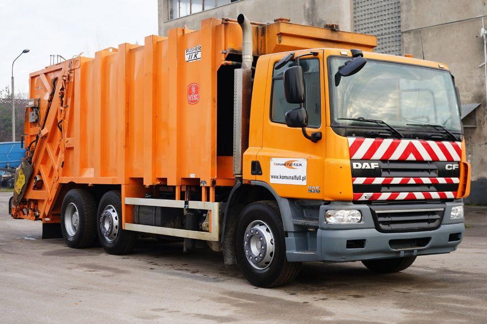 DAF CF śmieciarka 2 KOMORY do segregacji EURO 5 w całości na części