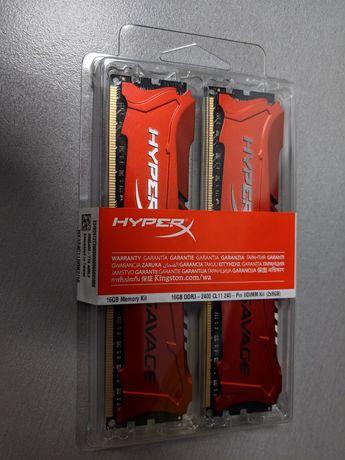 Новая Kingston DDR3-2400 16 GB HyperX Savage (HX324C11SRK2/16)