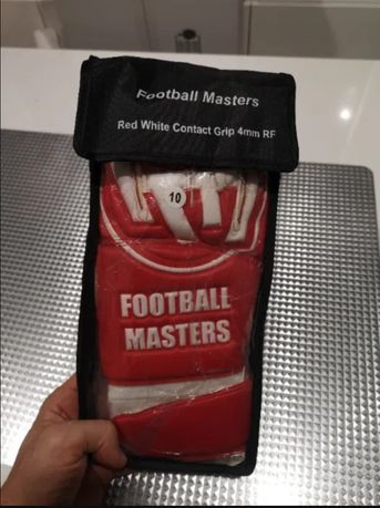Nowe rękawice bramkarskie Football Masters rozmiar 10