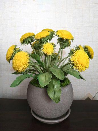 Подарок цветы искусственные