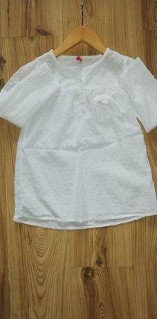 5 10 15 cudna biała koszula bluzka 122-134