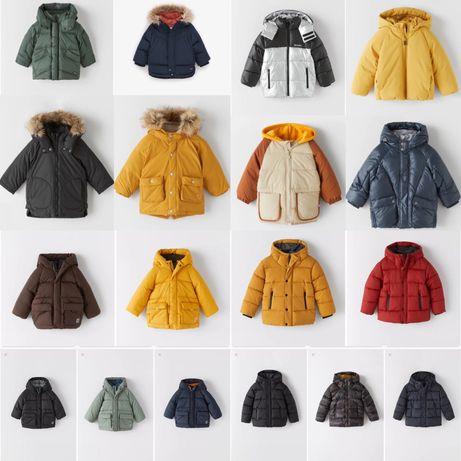 Зимові куртки Zara