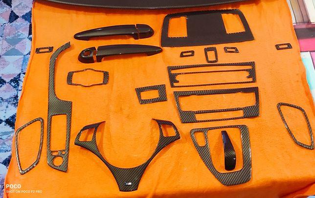 Carbone adesivo BMW e92 kit interior e exterior
