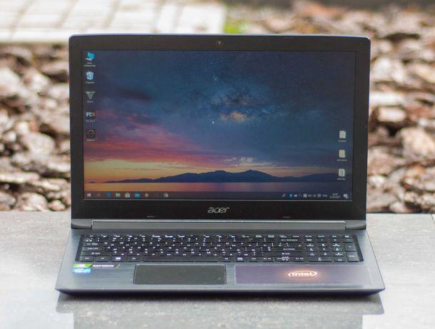 Супер Ноутбук Acer Aspire A315 Core i3-7020U 8GB SSD 240GB