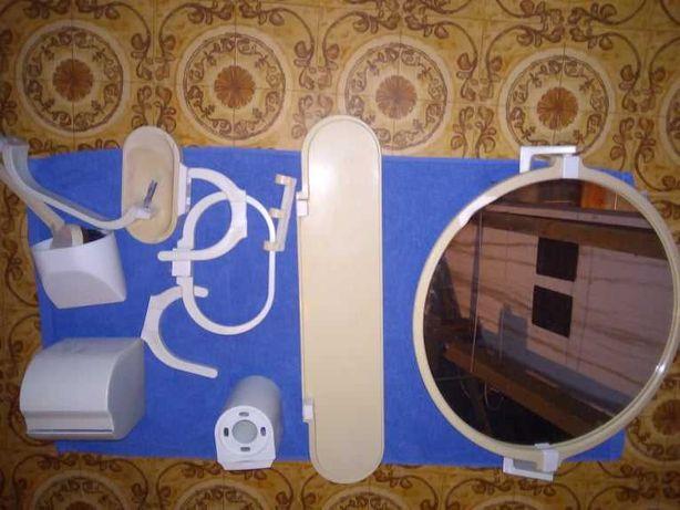 Komplet łazienkowy biały