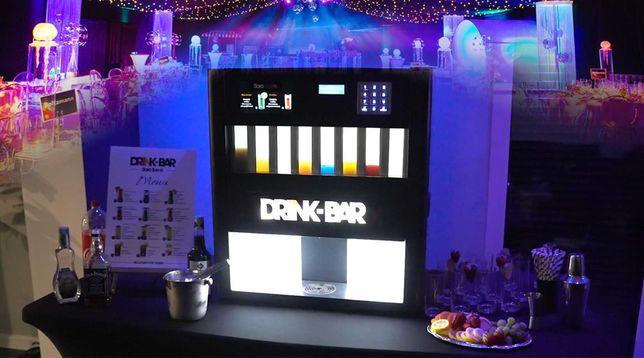 Automatyczny Barman DRINK-BAR Atrakcja Wesele Ślub Eventy Barmix