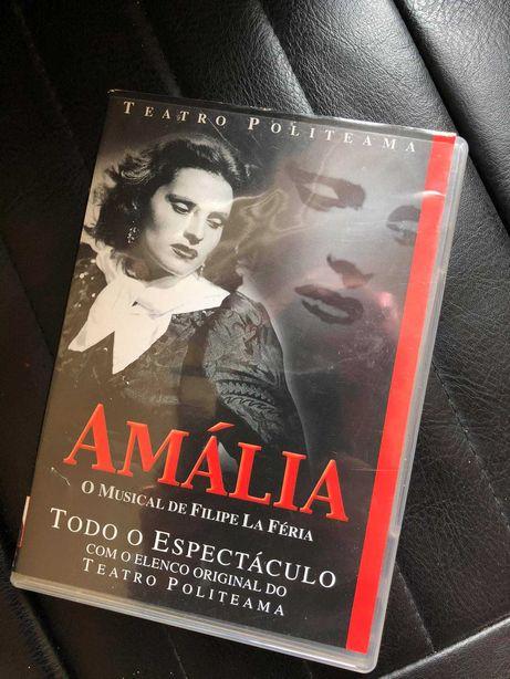 DVD Amália  - Musical de Filipe La Féria
