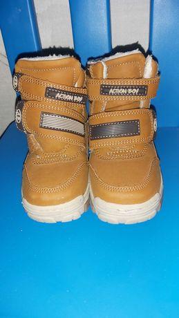 Buty zimowe chlopięce rozmiar 26