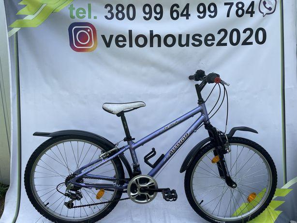 Велосипед горный на 24 колесах, рама алюміній, з Європи, б/у, velo!!!