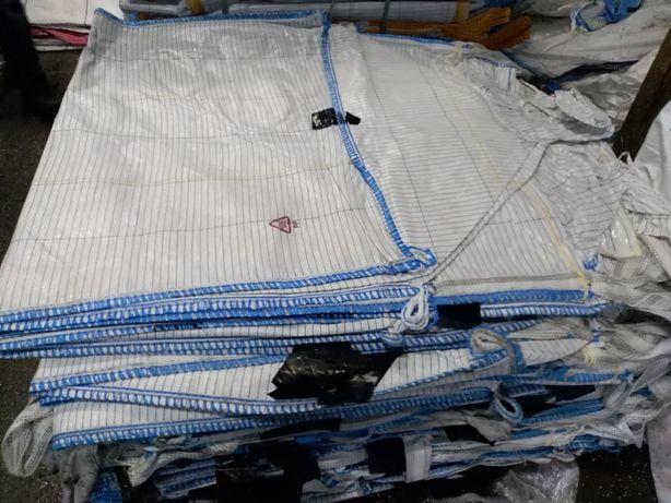 Worki Big Bag Używane 1200kg zboża Granulatów wysokość 180cm