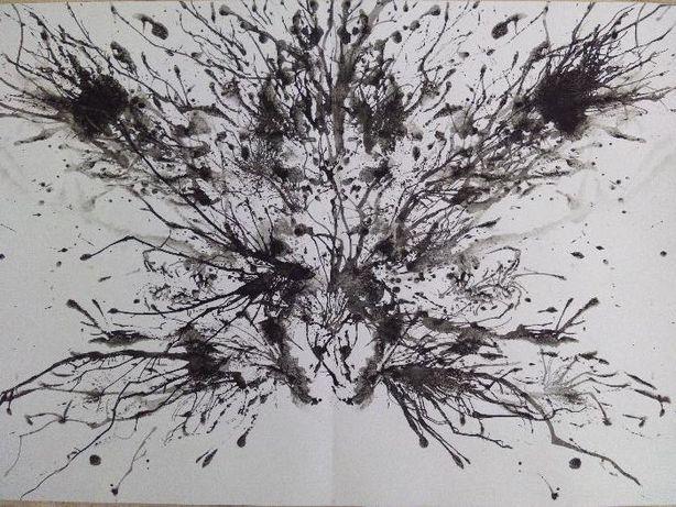 Desenho Pintura - tinta-da-china 29,7 x 42 cm PORTES GRÁTIS