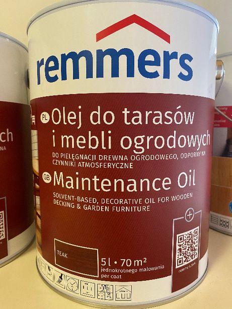 Remmers Pflege OL Olej do Tarasów i Mebli Ogrodowych 2,5 L 5 L