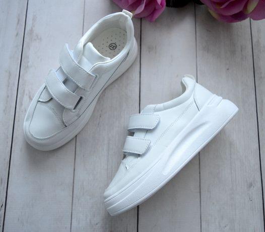 Piekne sneakersy buty sportowe rzepy r. od 36 do 41