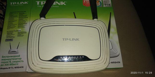 WI-FI Вайфай Роутер TP-Link TL-WR841N, під відновлення