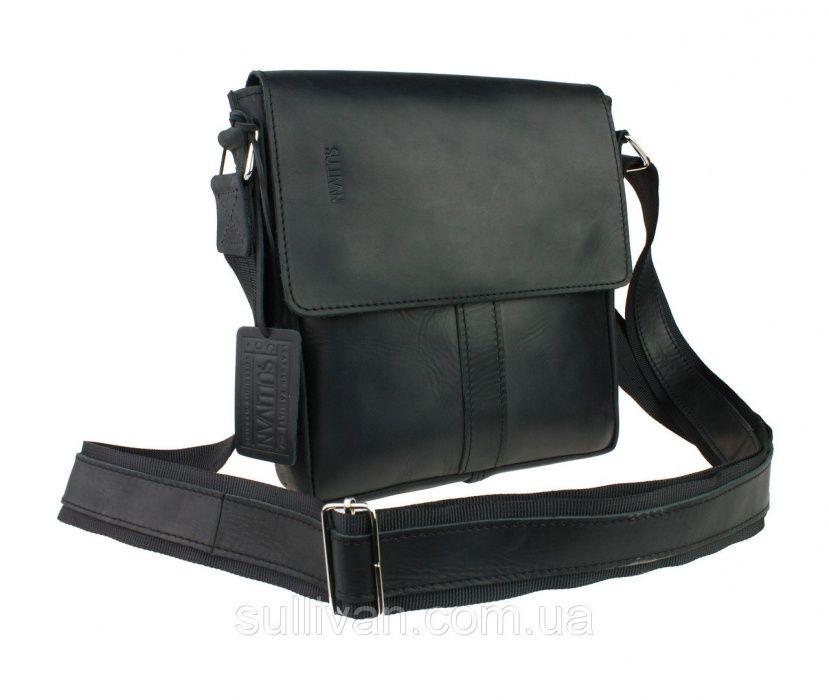 Кожаная мужская сумка сумочка ручная работа натуральная кожа опт Козелец - изображение 1