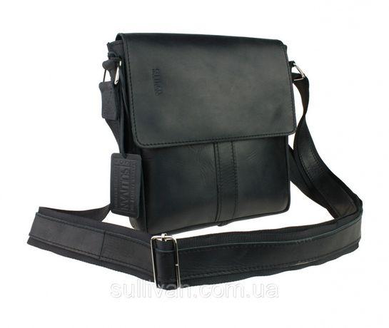 Кожаная мужская сумка сумочка ручная работа натуральная кожа опт