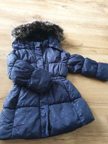 Kurtka zimowa dla dziewczynki rozmiar 98 CUBUS