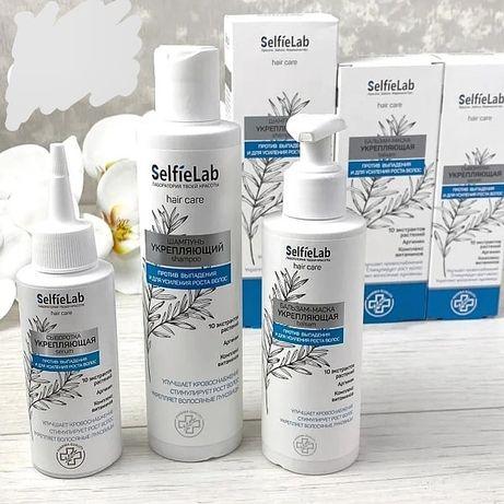 Нова лінійка проти випадіння волосся від білоруського бренду Selfielab