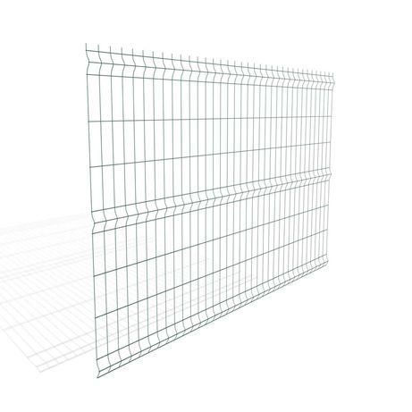 Panele ogrodzeniowe 1730x2500 mm zielony fi 5 mm