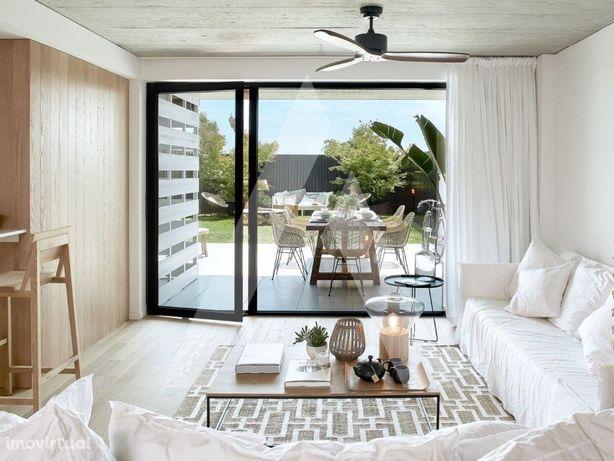 Apartamento T1 na praia..