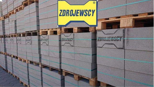 Bloczki betonowe z fazą na klej B15 B20 POMORSKIE