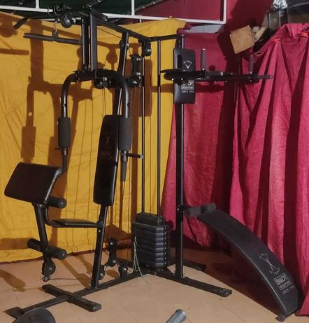 maquina de musculação / maquina multifunções