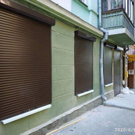 Защитные ролеты на окна и двери. Гаражные роллеты. Роллетные ворота