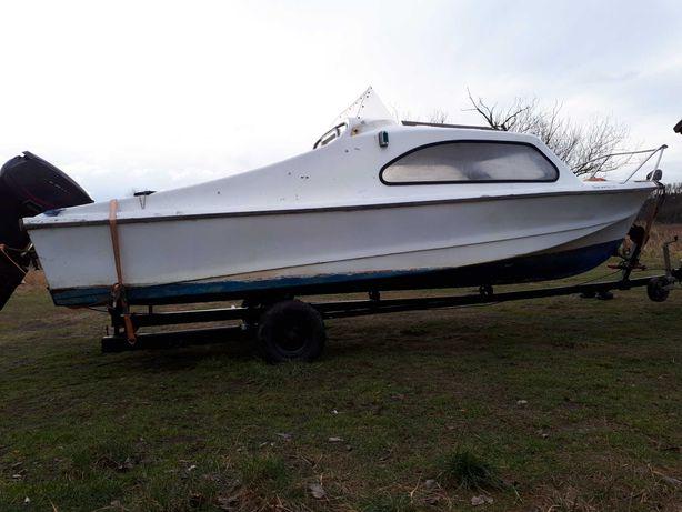 łódz łódka kabinowa kabinówka shetland 535 romana onedin norman inter